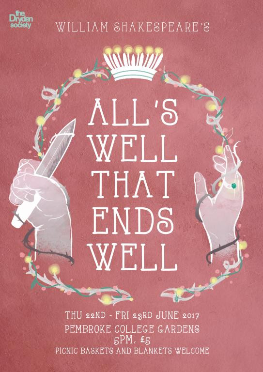 Show Alls Well That Ends Well Camdram
